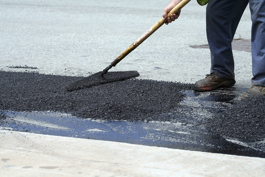 Pothole Repair, Crack Fills, Asphalt Repair in Richmond