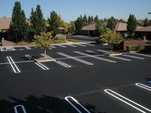 Parking Lot Striping in Richmond, ADA Parking lot Compliance, Fire Land Striping, Handicap Parking